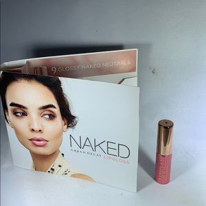 New Urban Decay lipgloss in lovechild travel size
